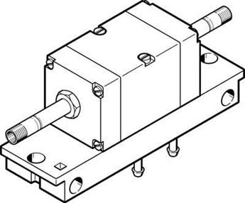 Picture of Festo 4447, Solenoid valve