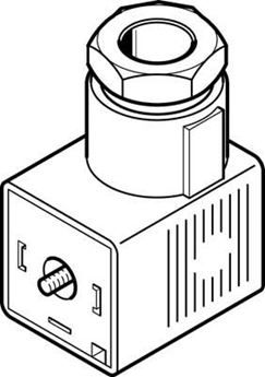 Picture of Festo 34411, Solenoid Coil
