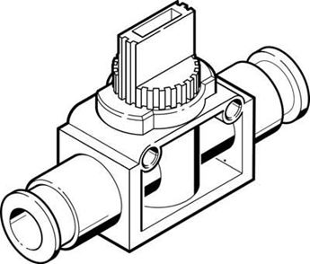 Picture of Festo 153337 Push-in/Threaded L-Fitting