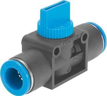 Picture of Festo 153339 Push-in/threaded L-fitting,