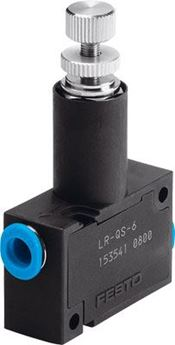 Picture of Festo 153411 Push-in/threaded L-Fitting