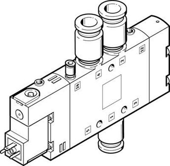 Picture of Festo 162865, Push-in Fitting