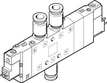 Picture of Festo 164958 Push-in/Threaded L Fitting