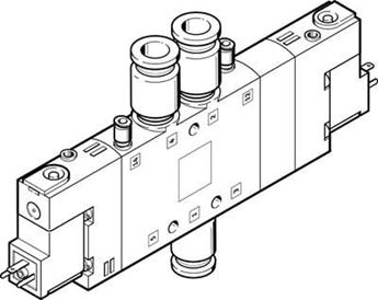 Picture of Festo 164992 Flat Cylinder
