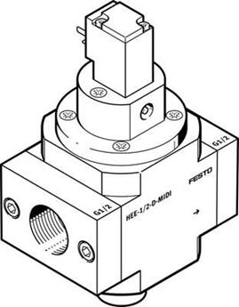 Picture of Festo 170833 Guide Cylinder