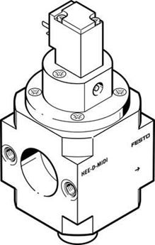 Picture of Festo 170851 Guide Cylinder