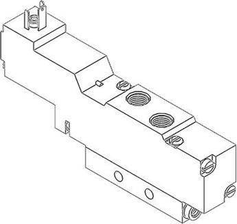 Picture of Festo 170878 Guide Cylinder