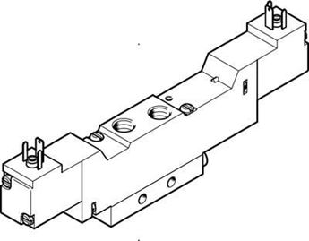 Picture of Festo 170913 Guide Cylinder