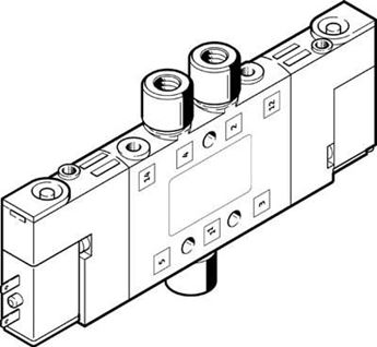 Picture of FESTO 195706 MANIFOLD BLOCK