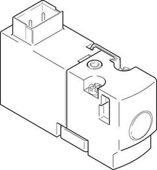 Picture of Festo 196031 Round Cylinder