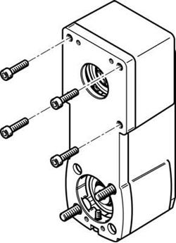 powermatic associates motion control VFD Motor festo 541331 connecting cable