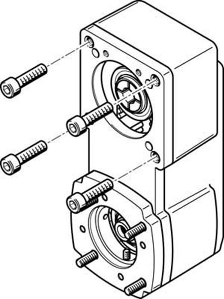 Picture of FESTO 541334, CONNECTING LINE