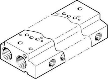 Picture of Semi-rot. drive , FESTO 547580