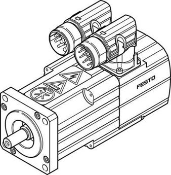Picture of Festo 1366954, Standard Cylinder