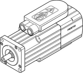 Picture of FESTO 1370491 STEPPER MOTOR