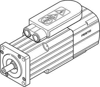 Picture of FESTO 1370491 STEPPER MOTOR