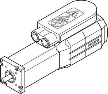 Picture of Festo 163471, Standard cylinder