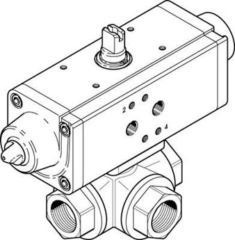 Picture of Festo 1646744 Standard Cylinder