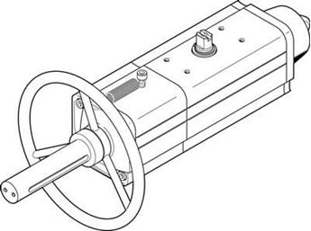 Picture of Festo 2123073 Standard Cylinder